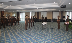 The Oath-Taking Ceremony for Newly Appointed Echelon IV Officials