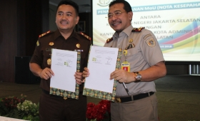 Improve Legal Cooperation, South Jakarta District Attorney Collaborate with National Land Agency (BPN)