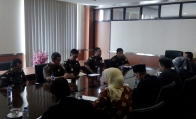 South Jakarta District Attorney Service Coordinate with the South Jakarta Election Supervisory Board